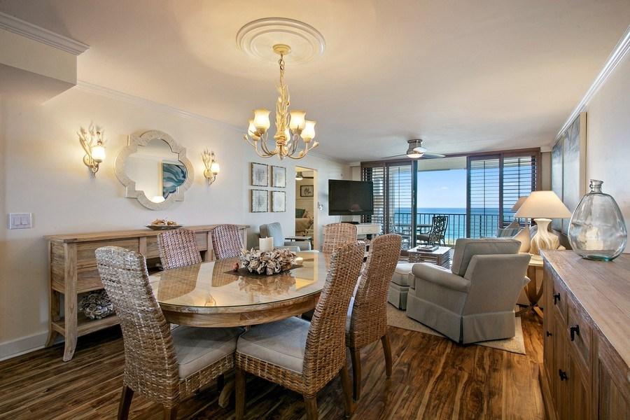Real Estate Photography - 100 Ocean Trl, 710, Jupiter, FL, 33477 - Dining Room