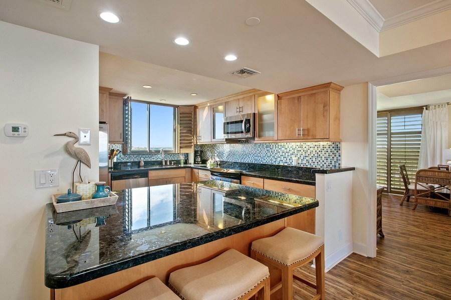 Real Estate Photography - 100 Ocean Trl, 710, Jupiter, FL, 33477 - Kitchen