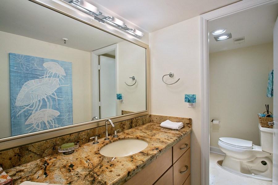 Real Estate Photography - 100 Ocean Trl, 710, Jupiter, FL, 33477 - 2nd Bathroom