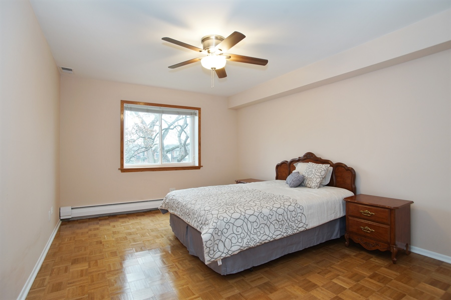 Real Estate Photography - 2420 E Brandenberry CT 2G, Arlington Heights, IL, 60004 - Master Bedroom