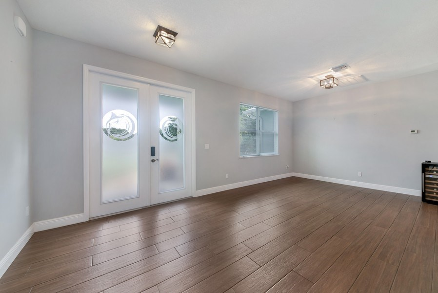 Real Estate Photography - 2264 SE Saint Lucie Blvd., Stuart, FL, 34996 - Foyer/Dining Room