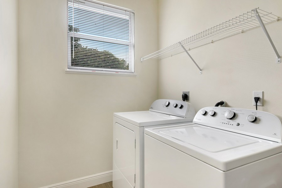 Real Estate Photography - 2264 SE Saint Lucie Blvd., Stuart, FL, 34996 - Laundry Room