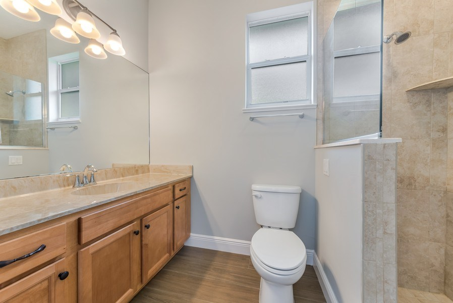 Real Estate Photography - 2264 SE Saint Lucie Blvd., Stuart, FL, 34996 - 2nd Bathroom