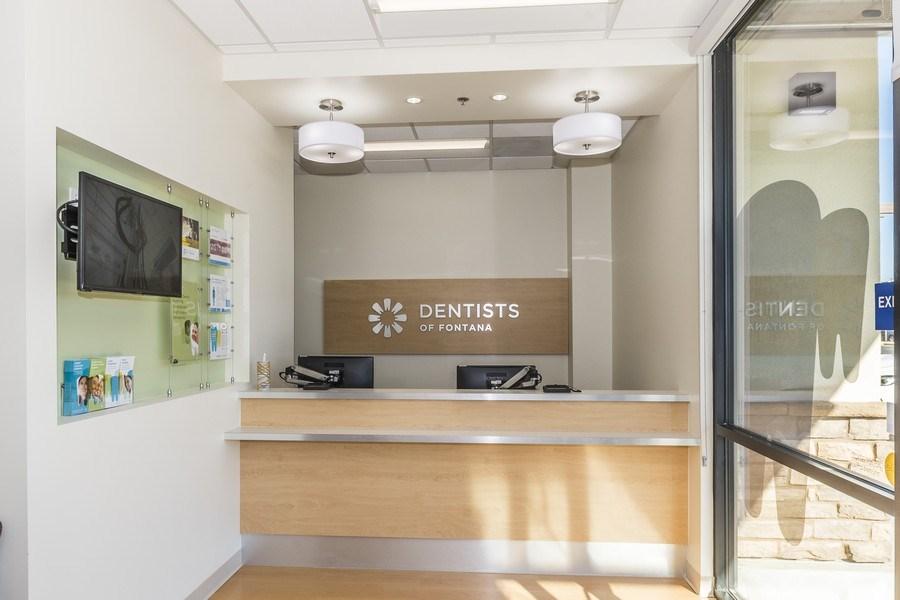 Real Estate Photography - 16944 S. Highland Ave, Ste 400,Dentist of Fontana, Fontana, CA, 92335 - Lobby