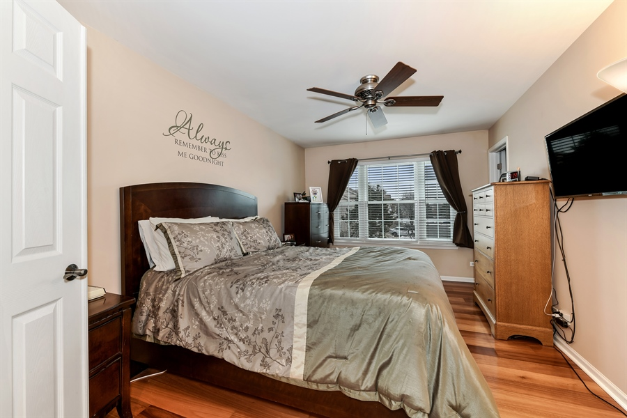 Real Estate Photography - 2315 Scott Lane, Aurora, IL, 60502 - Master Bedroom