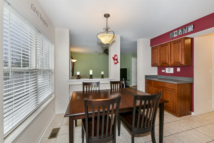 Real Estate Photography - 2315 Scott Lane, Aurora, IL, 60502 - Dining Room