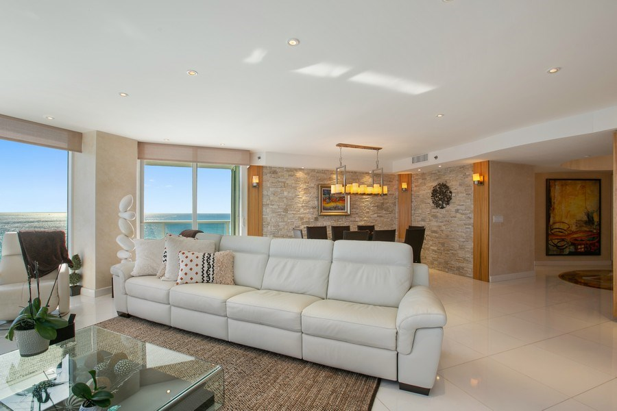 Real Estate Photography - 19333 Collins Ave, Apt 2001, Sunny Isles Beach, FL, 33160 - Living Area_2