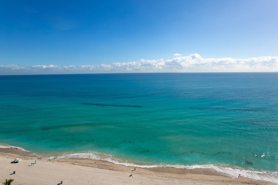 Real Estate Photography - 19333 Collins Ave, Apt 2001, Sunny Isles Beach, FL, 33160 - East View