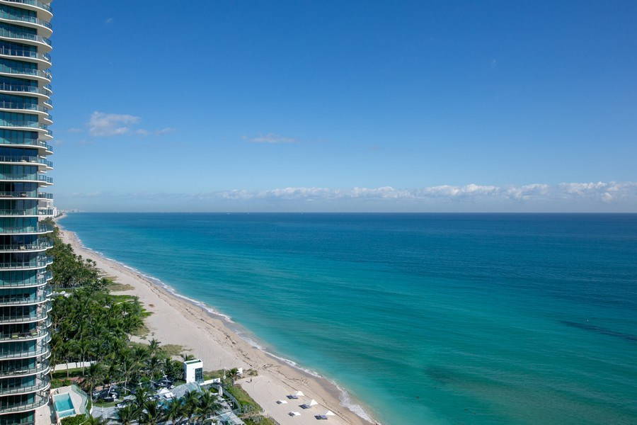 Real Estate Photography - 19333 Collins Ave, Apt 2001, Sunny Isles Beach, FL, 33160 - North View