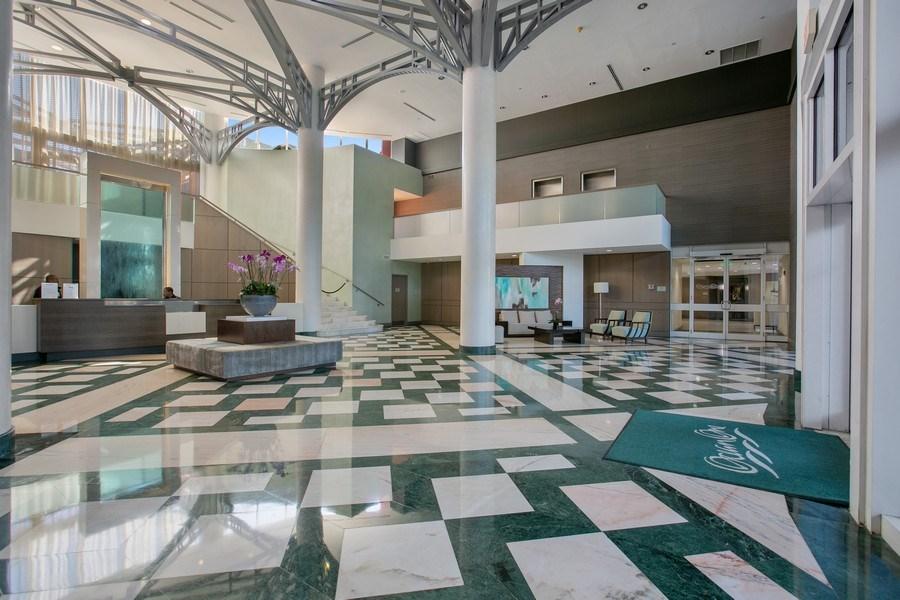 Real Estate Photography - 19333 Collins Ave, apt 1802, Aventura, FL, 33160 - Main Lobby