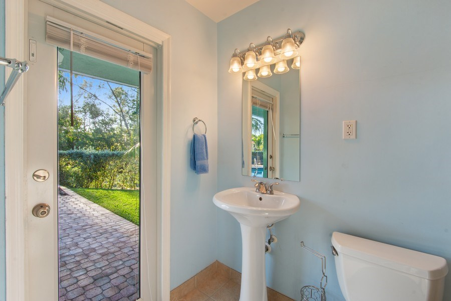 Real Estate Photography - 5811 NE 14th Ln, Fort Lauderdale, FL, 33334 - 3rd Bathroom