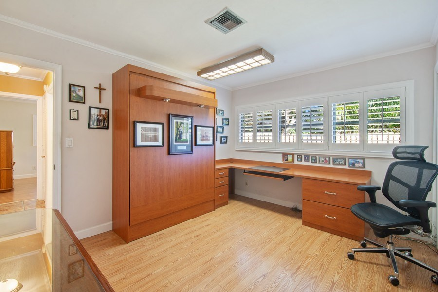 Real Estate Photography - 5811 NE 14th Ln, Fort Lauderdale, FL, 33334 - 3rd Bedroom