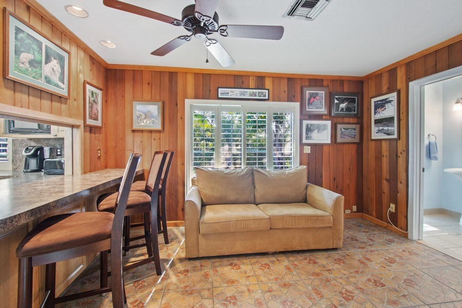 Real Estate Photography - 5811 NE 14th Ln, Fort Lauderdale, FL, 33334 - Family Room