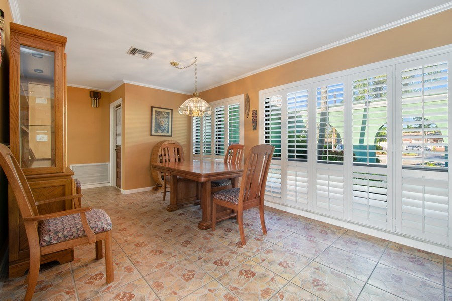 Real Estate Photography - 5811 NE 14th Ln, Fort Lauderdale, FL, 33334 - Dining Room