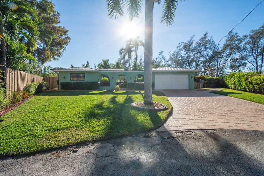 Real Estate Photography - 5811 NE 14th Ln, Fort Lauderdale, FL, 33334 - Front View