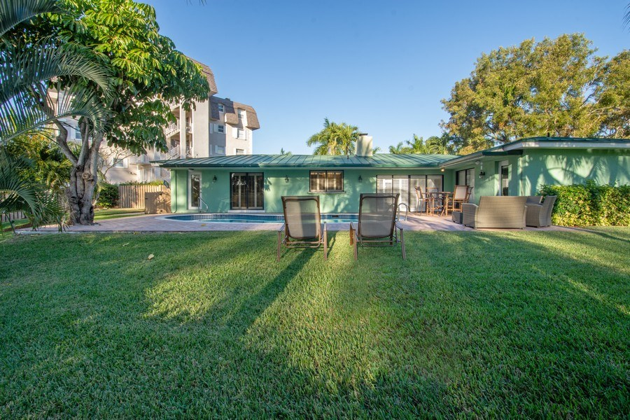 Real Estate Photography - 5811 NE 14th Ln, Fort Lauderdale, FL, 33334 - Rear View