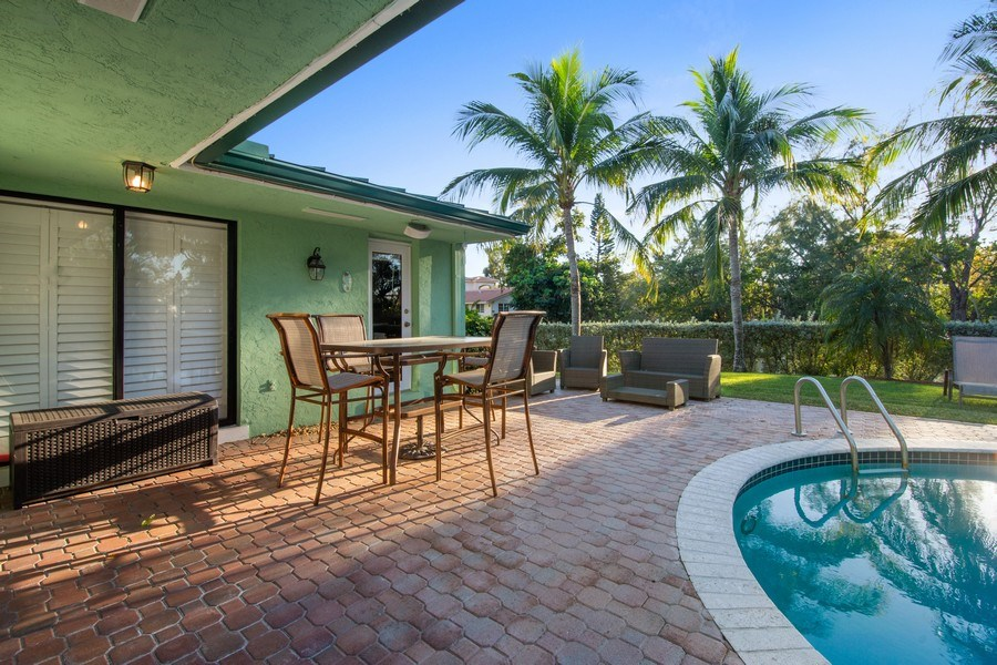 Real Estate Photography - 5811 NE 14th Ln, Fort Lauderdale, FL, 33334 - Patio