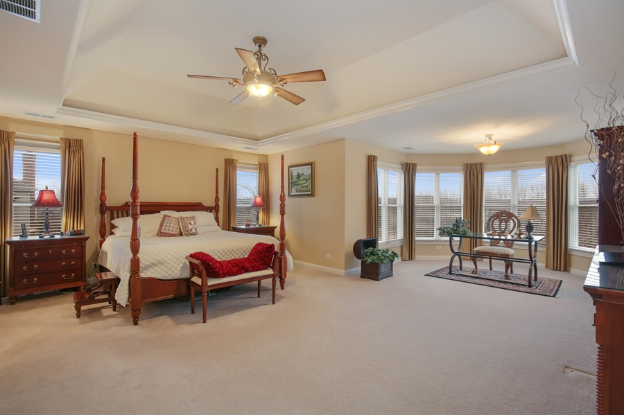 Real Estate Photography - 39W689 Walt Whitman Rd, St Charles, IL, 60175 - Master Bedroom