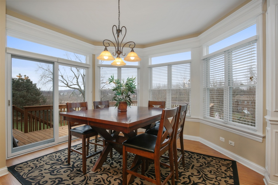 Real Estate Photography - 39W689 Walt Whitman Rd, St Charles, IL, 60175 - Kitchen / Breakfast Room