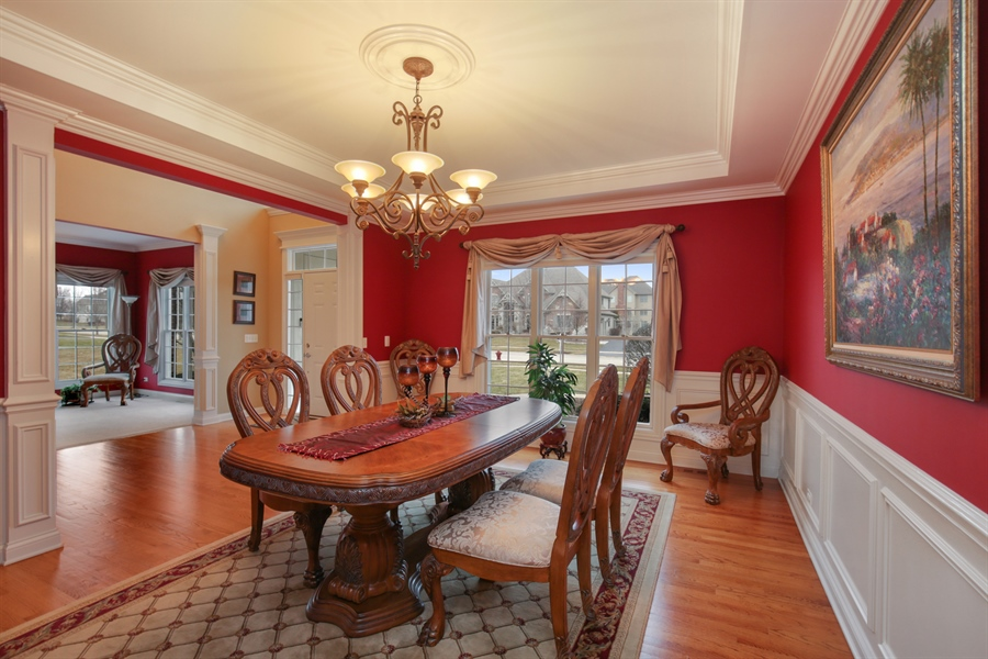 Real Estate Photography - 39W689 Walt Whitman Rd, St Charles, IL, 60175 - Dining Room