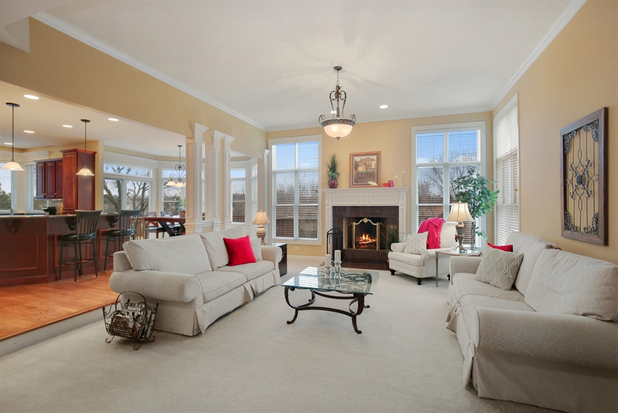 Real Estate Photography - 39W689 Walt Whitman Rd, St Charles, IL, 60175 - Family Room