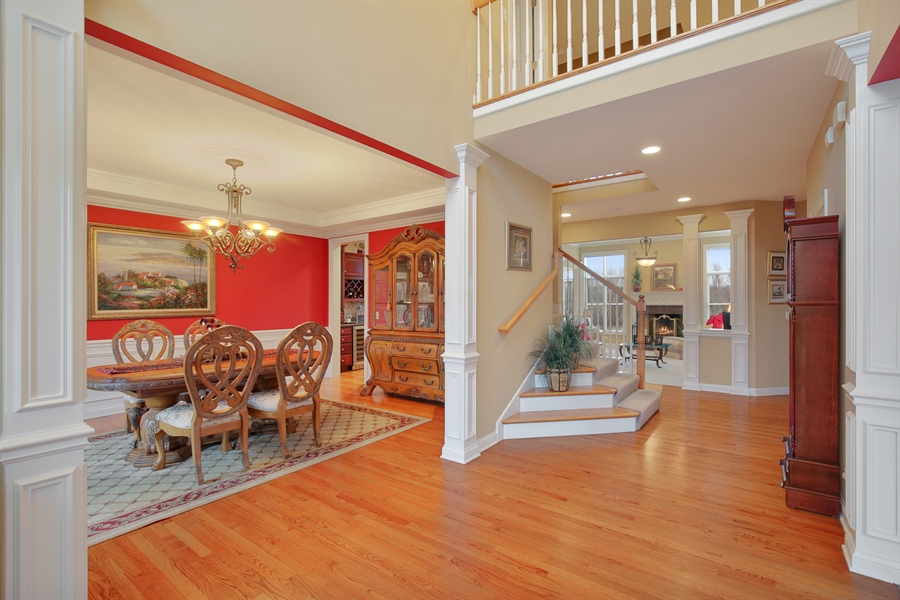 Real Estate Photography - 39W689 Walt Whitman Rd, St Charles, IL, 60175 - Foyer
