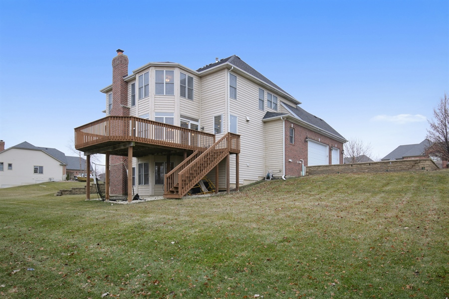 Real Estate Photography - 39W689 Walt Whitman Rd, St Charles, IL, 60175 - Rear View