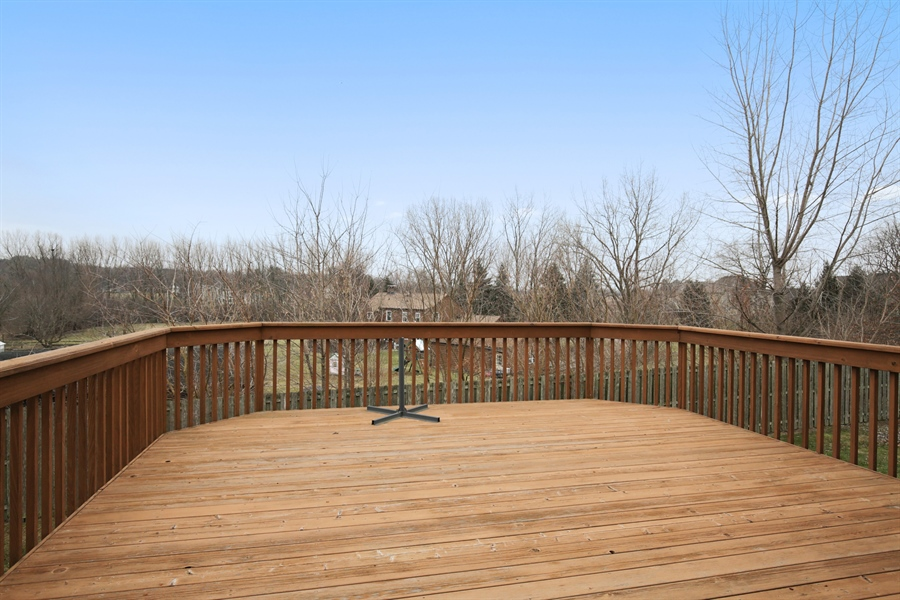 Real Estate Photography - 39W689 Walt Whitman Rd, St Charles, IL, 60175 - Deck