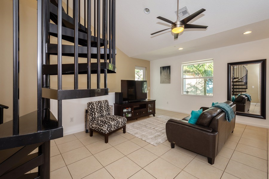 Real Estate Photography - 2906 Cascada Isle Way, Cooper City, FL, 33024 - Living Room