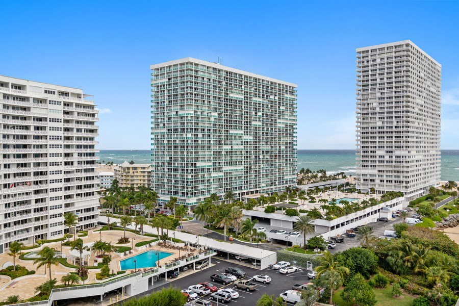 Real Estate Photography - 2100 S Ocean dr, 11E, Fort Lauderdale, FL, 33316 - View