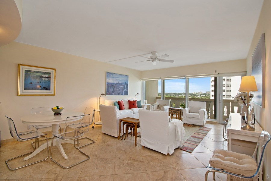 Real Estate Photography - 2100 S Ocean dr, 11E, Fort Lauderdale, FL, 33316 - Dining Room