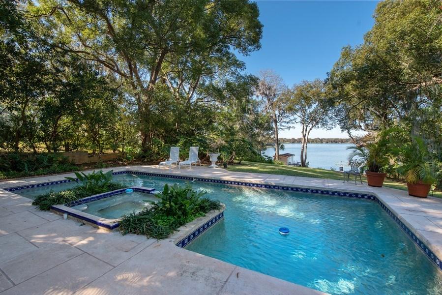 Real Estate Photography - 581 Sylvan Dr, Winter Park, FL, 32789 - Pool