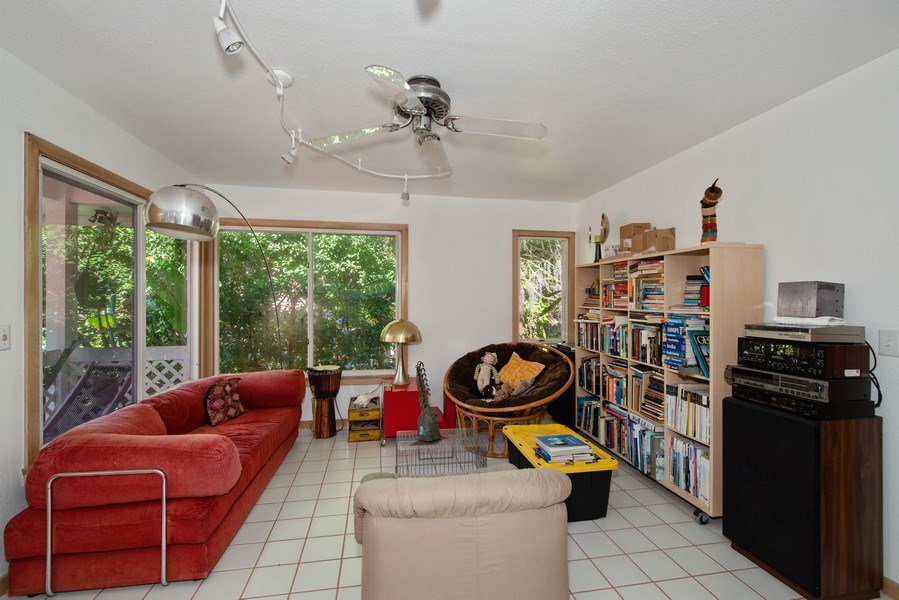 Real Estate Photography - 581 Sylvan Dr, Winter Park, FL, 32789 - Guest House Family Room