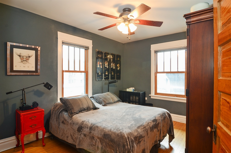 Real Estate Photography - 4851 Bernard, Chicago, IL, 60625 - Master Bedroom