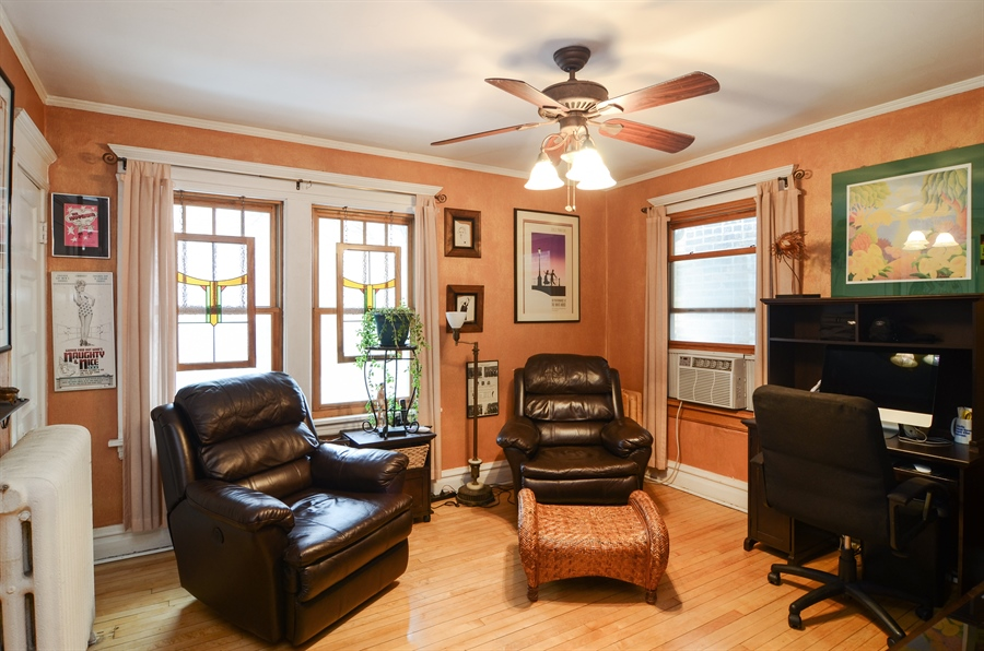 Real Estate Photography - 4851 Bernard, Chicago, IL, 60625 - 2nd Bedroom
