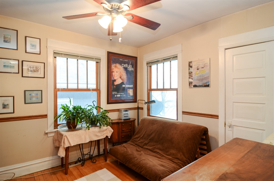 Real Estate Photography - 4851 Bernard, Chicago, IL, 60625 - 3rd Bedroom