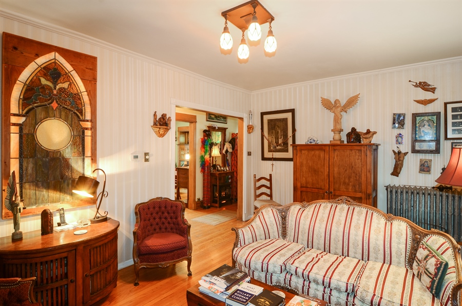 Real Estate Photography - 4851 Bernard, Chicago, IL, 60625 - Living Room