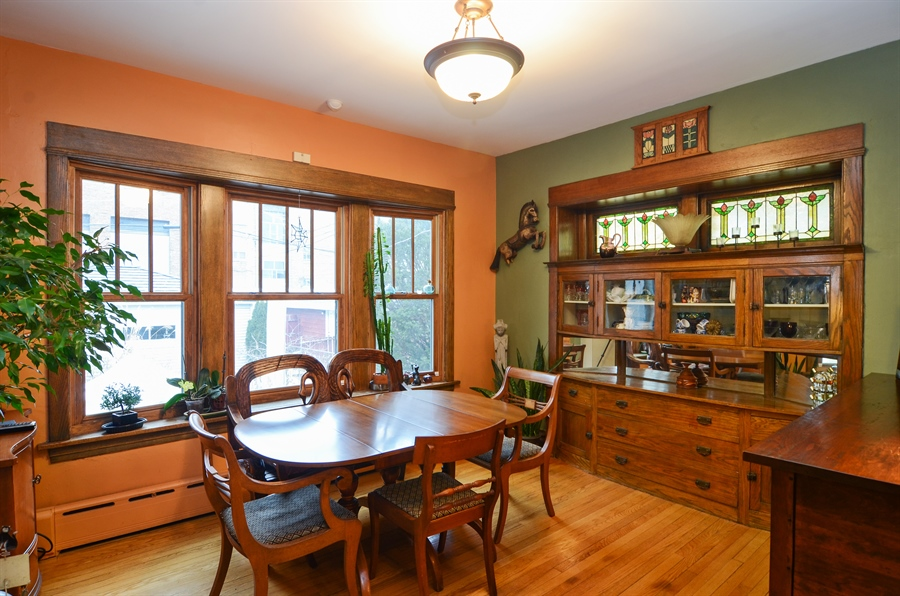 Real Estate Photography - 4851 Bernard, Chicago, IL, 60625 - Dining Room