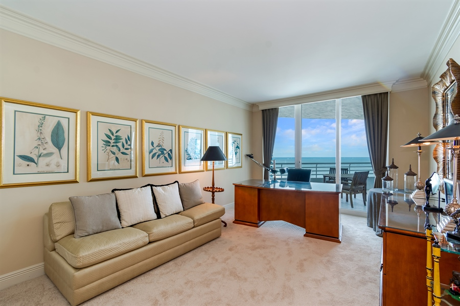 Real Estate Photography - 1700 S Ocean Blvd, Unit 18A, Pompano Beach, FL, 33062 - 2nd Bedroom