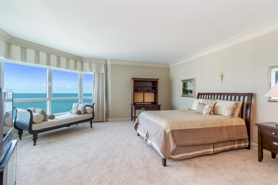 Real Estate Photography - 1700 S Ocean Blvd, Unit 18A, Pompano Beach, FL, 33062 - Bedroom