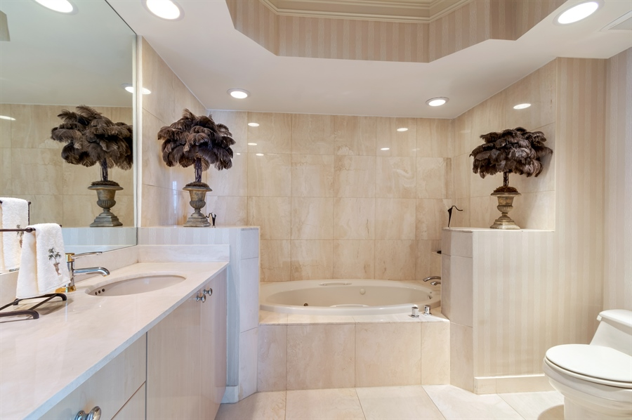 Real Estate Photography - 1700 S Ocean Blvd, Unit 18A, Pompano Beach, FL, 33062 - Bathroom