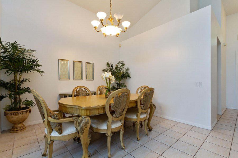 Real Estate Photography - 6337 NW 78th Dr, Parkland, FL, 33067 - Dining Room