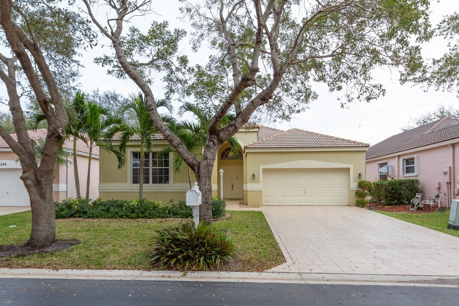 Real Estate Photography - 6337 NW 78th Dr, Parkland, FL, 33067 - Front View