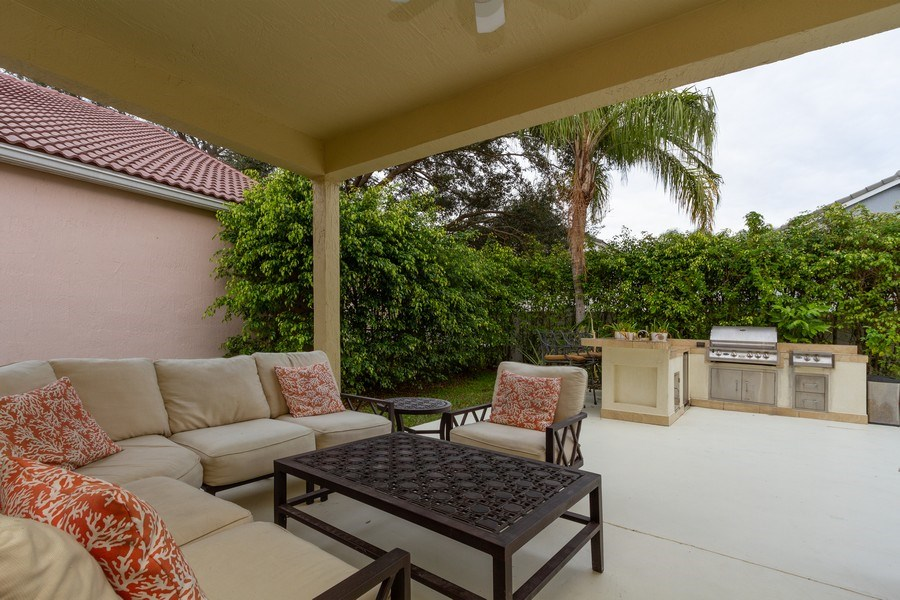 Real Estate Photography - 6337 NW 78th Dr, Parkland, FL, 33067 - Patio