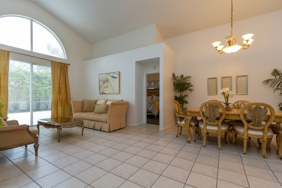Real Estate Photography - 6337 NW 78th Dr, Parkland, FL, 33067 - Living Room / Dining Room
