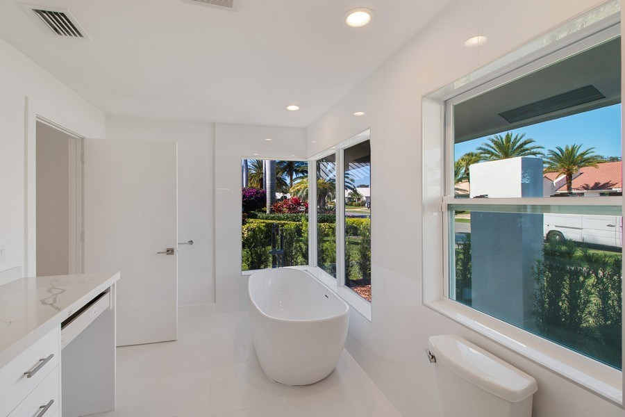 Real Estate Photography - 4230 Live Oak Blvd, Delray Beach, FL, 33445 - Master Bathroom