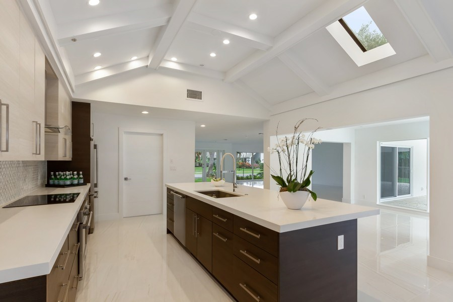 Real Estate Photography - 4230 Live Oak Blvd, Delray Beach, FL, 33445 - Kitchen