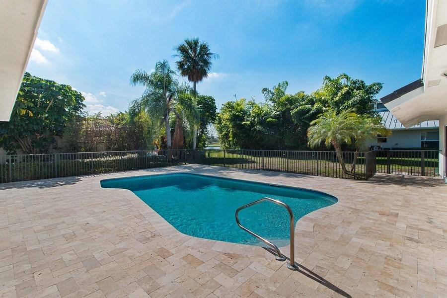 Real Estate Photography - 4230 Live Oak Blvd, Delray Beach, FL, 33445 - Pool