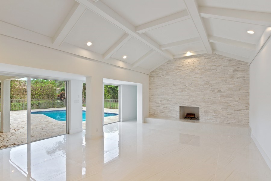 Real Estate Photography - 4230 Live Oak Blvd, Delray Beach, FL, 33445 - Family Room