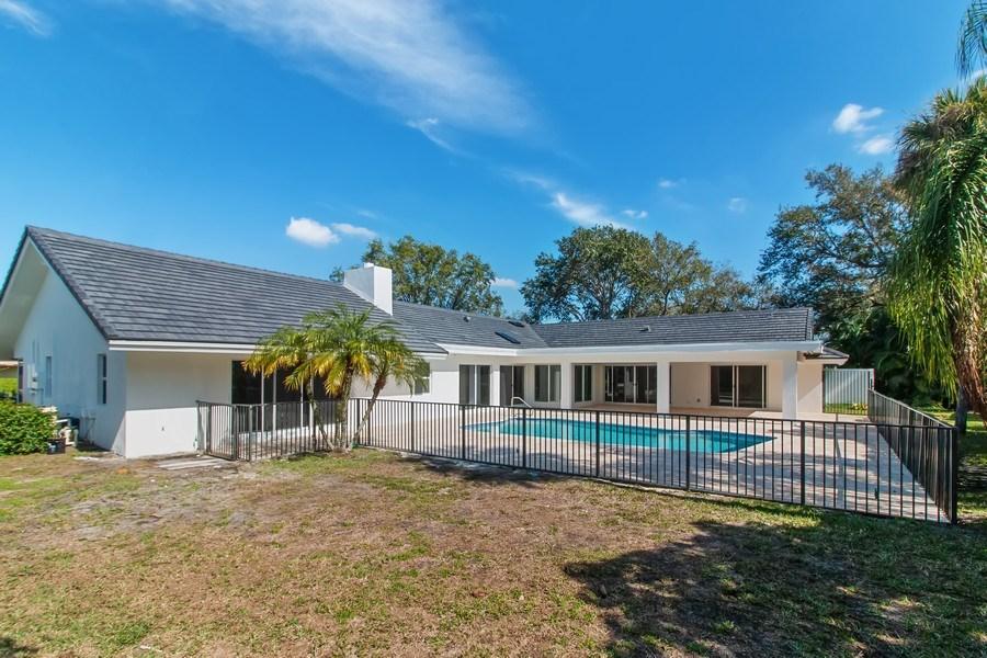 Real Estate Photography - 4230 Live Oak Blvd, Delray Beach, FL, 33445 - Rear View